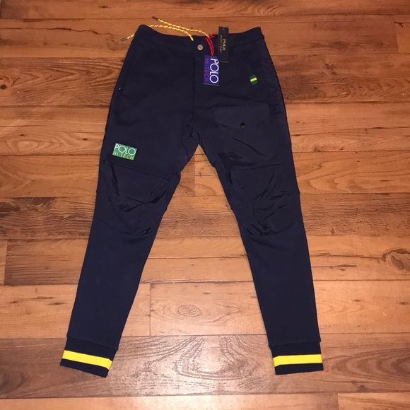 POLO HI TECH SWEAT PANTS NWT